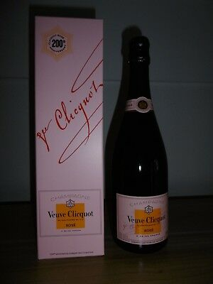Veuve Clicquot Rosé Rose Champagne Reims - 750ml - 200th anniversary Champagner