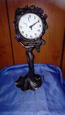 A Beautiful Art Nouveau Styly Mantel Clock