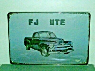 FJMS1 FJ UTE Metal Sign New 20 cm H X 30 cm W