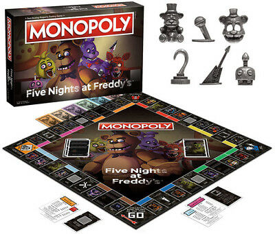 Monopoly: Five Nights At Freddy's Board Game