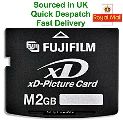 Fujifilm 2GB XD Picture Memory Card Type M - Original Genuine New MPN: MXD2GM3