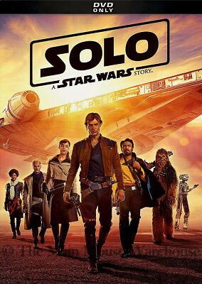 Authentic Brand New Solo A Star Wars Story on DVD Han Solo Lando Backstory Movie