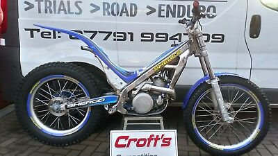 04 sherco 290 trials bike px and delivery. Cheap bike £999