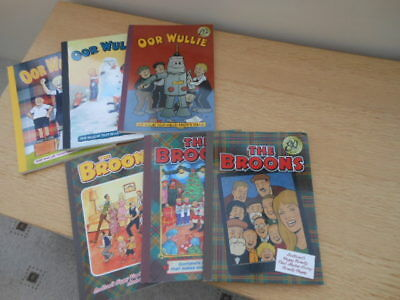 Oor Wullie & Broons annuals  - Job Lot