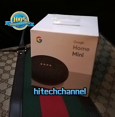 Assistente vocale WIFI Google Home Mini Originale lingua italiana WIFI nero