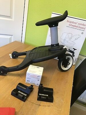 Bugaboo comfort wheeled buggy board with seat and attaching kit For Cameleon
