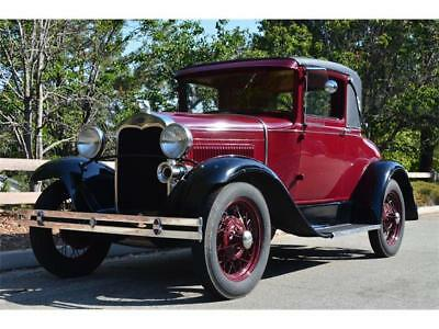1930 Ford Model A Standard 1930 FORD MODEL A 2-DOOR COUPE