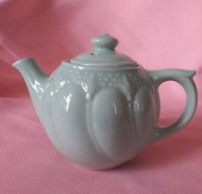 Vintage 1 Cup Small Mint Green  Teapot