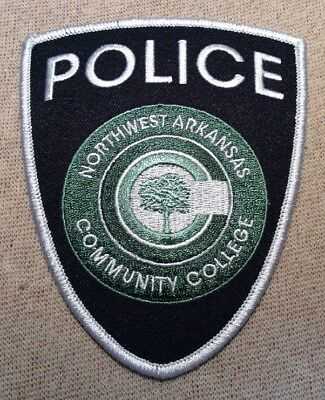 AR Northwest Arkansas Community College Police Patch