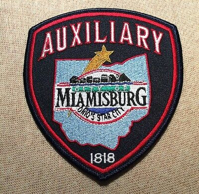 OH Miamsburg Ohio Auxiliary Police Patch