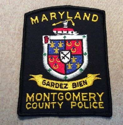 MD Montgomery County Maryland Police Patch