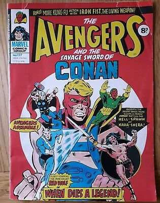 The Avengers And Savage Sword of Conan. No 127- Feb 21st 1976. Marvel. Stan Lee.