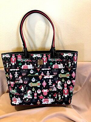 NWT 2018 DISNEY Dooney & Bourke Christmas Tote  SHIPS FREE SAME DAY!!