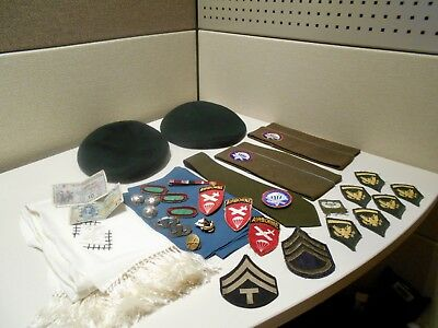 Original 1950's 10th Special Forces Sergeant's Estate ~ Green Berets ~ STERLING