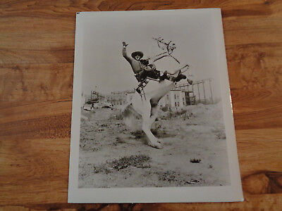 VINTAGE THE LONE RANGER Photo Clayton Moore Rearing Silver 8 x 10