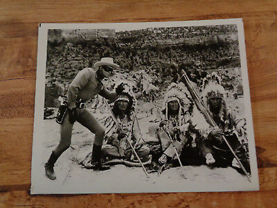 VINTAGE THE LONE RANGER Photo Clayton Moore 8 x 10