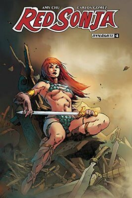 Red Sonja #4 Subscription Cover E Variant By Mel Rubi Nm 1St Print