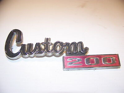 1977 1978 1979 1980 Dodge Truck Power Wagon Custom 200 Emblem Oem #4033338