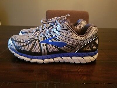 45afb33986b Brooks Men s Beast 16 Silver Blue 1102274E005 SIZE 12 4E Extra Wide Running