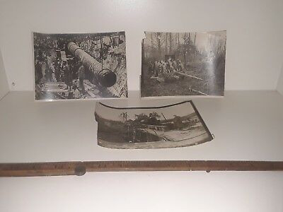 WWI France French Soldier Poilu Artillery Cannon Howitzer Mortar Dunkerque