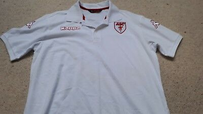 AS Cannes - Cotton Blend Polo Shirt by Kappa - Size XL - New