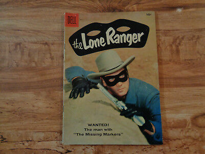 """VINTAGE May 1958 DELL """"The Lone Ranger"""" Comic Book Vol. 1 No. 119 Silver Age"""