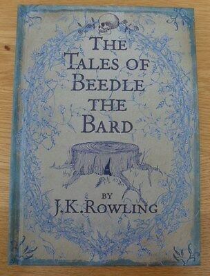 The Tales of Beedle the Bard by J.K. Rowling (Hardback Book 2008)