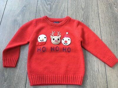Baby Boy Next Christmas Jumper Age 18-24 Months