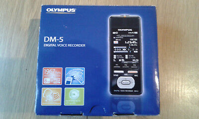 Olympus DM-5 Digital Voice Recorder / Dictaphone - Fully Boxed, Great Condition