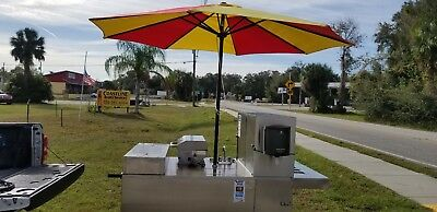 Mobile Hotdog Cart/ Catering Cart/ Mobile Kitchen