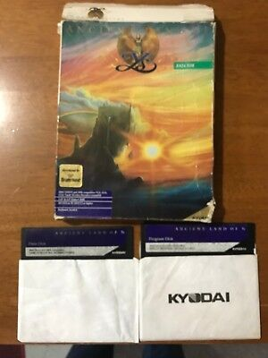 "Broderbund Kayodai PC compatible ""Ancient Land Of Y's"" game"