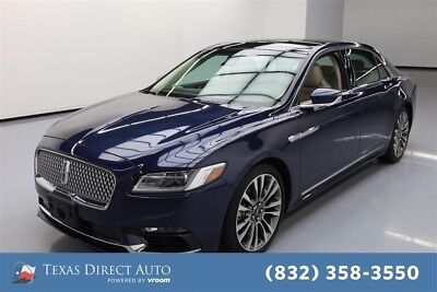 2017 Lincoln Continental Reserve Texas Direct Auto 2017 Reserve Used Turbo 2.7L V6 24V Automatic AWD Sedan