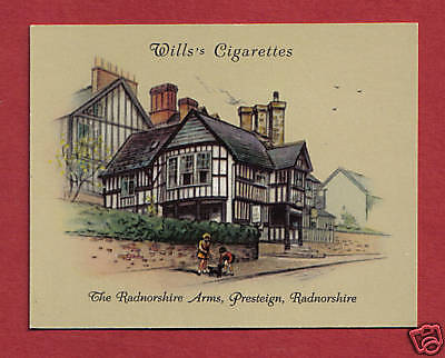 The RADNORSHIRE ARMS HOTEL  Presteign  WALES 1939 original card