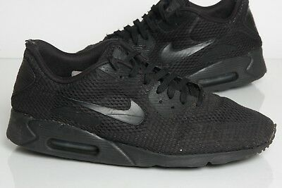 the best attitude cdc86 96182 Nike Air Max 90 Ultra BR Trainers UK Size 11 Black (well worn)
