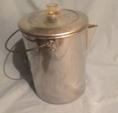 Open Country 20 Cup Stove Top Camping Percolator Coffee Pot USA Metal Ware Corp