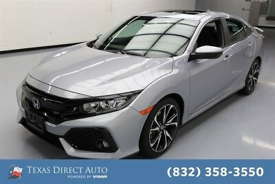 2018 Honda Civic Si 4dr Sedan Texas Direct Auto 2018 Si 4dr Sedan Used Turbo 1.5L I4 16V Manual FWD Sedan