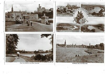 INVERNESS Lot 8 Early Postcard Some RP