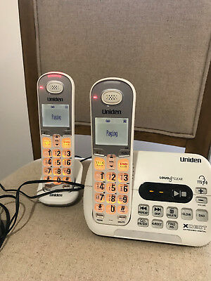 Uniden cordless phone XDECT with answering machine