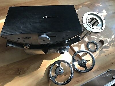Camera Geared Head Gearhead WORRALL / DOP MITCHELL Flat Base HiHat like ARRIHEAD