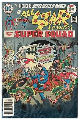 All Star Comics #64 VF/NM 9.0 white pages  Justice Society  DC  1977  No Reserve