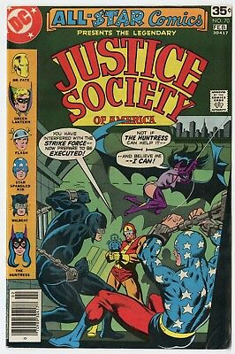 All Star Comics #70 VF 8.0 white pages  Justice Society  DC  1978  No Reserve