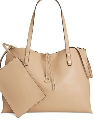 b952a07550 NWT CALVIN KLEIN Reversible Tote & Wristlet MSRP $168.00 Perfect for Spring!