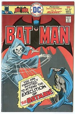 Batman #267 VF/NM 9.0 ow/white pages  DC  1975  No Reserve