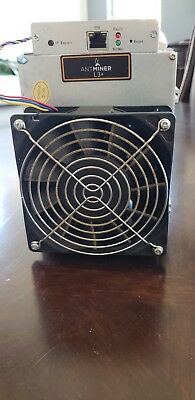 Bitmain Antminer L3+ Litecoin Miner Used 504 MH/s with Power Supply APW3++