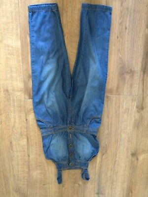 Next Blue Cropped Play suit Size 6 Years