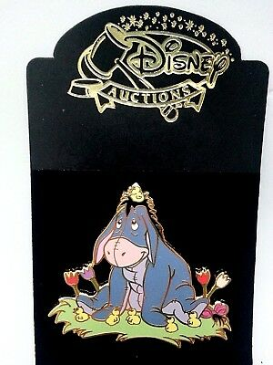 Disney Pin Easter Eeyore with chicks LE  Disney Auctions Pooh and Friend Holiday