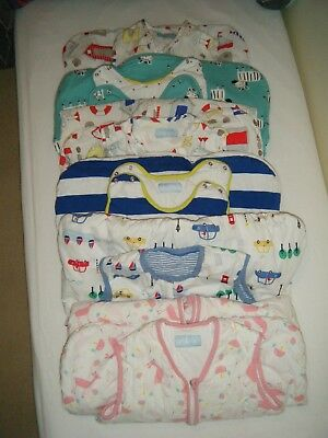 6 Toddler sleeping bags Various Sizes and Togs - Gro Bag and John Lewis