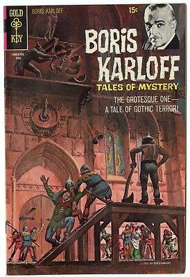 Boris Karloff Tales of Mystery #30 NM- 9.2 ow/white pages  Gold Key  1970