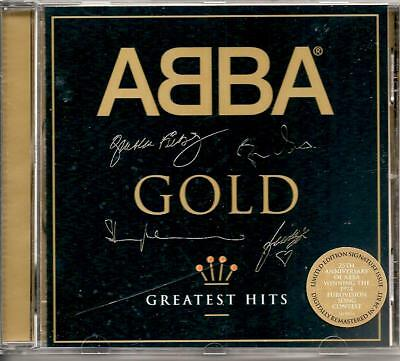 ABBA GOLD Greatest Hits Import with facsimile Autographs [Remastered] R&B Disco