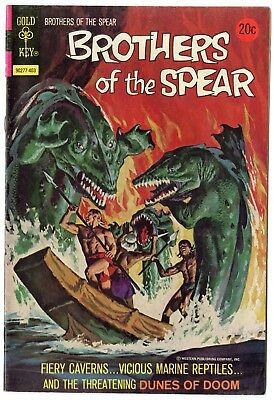 Brothers of the Spear #8 VF/NM 9.0 ow/white pages  Gold Key  1974  No Reserve